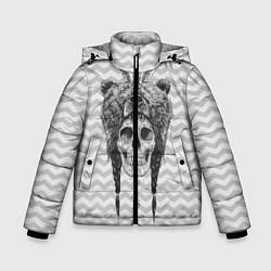 Куртка зимняя для мальчика Мертвый шаман цвета 3D-черный — фото 1