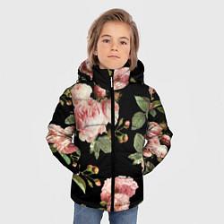Куртка зимняя для мальчика TOP Roses цвета 3D-черный — фото 2