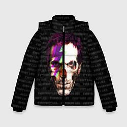 Куртка зимняя для мальчика Dr. Dead House цвета 3D-черный — фото 1