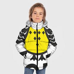 Куртка зимняя для мальчика Сова: пора в отпуск! цвета 3D-черный — фото 2
