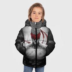 Куртка зимняя для мальчика Ли Син цвета 3D-черный — фото 2