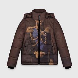 Куртка зимняя для мальчика Александр III Миротворец цвета 3D-черный — фото 1