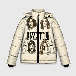 Куртка зимняя для мальчика Led Zeppelin Guys - фото 1