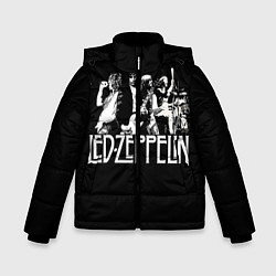 Куртка зимняя для мальчика Led Zeppelin: Mono цвета 3D-черный — фото 1