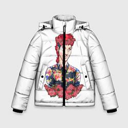 Куртка зимняя для мальчика Twenty One Pilots: Red Guy цвета 3D-черный — фото 1