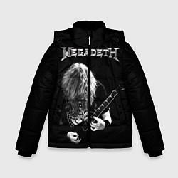 Детская зимняя куртка для мальчика с принтом Dave Mustaine, цвет: 3D-черный, артикул: 10121348006063 — фото 1