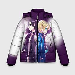 Куртка зимняя для мальчика Юдзио (ユージオ Yūjio цвета 3D-черный — фото 1