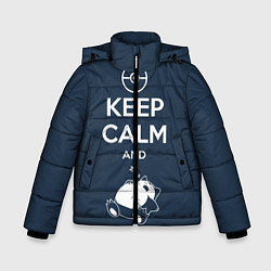 Куртка зимняя для мальчика Keep Calm & Squirtle - фото 1