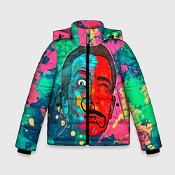 Куртка зимняя для мальчика Dali Art цвета 3D-черный — фото 1
