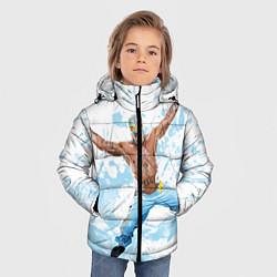 Куртка зимняя для мальчика Рей Мистерио цвета 3D-черный — фото 2