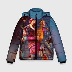 Куртка зимняя для мальчика Лютик цвета 3D-черный — фото 1