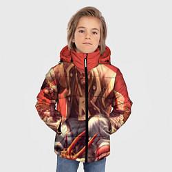 Детская зимняя куртка для мальчика с принтом Dead island 5, цвет: 3D-черный, артикул: 10129110206063 — фото 2