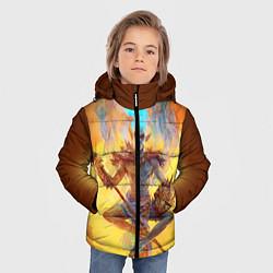 Куртка зимняя для мальчика Вивек цвета 3D-черный — фото 2