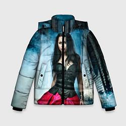 Куртка зимняя для мальчика Evanescence цвета 3D-черный — фото 1