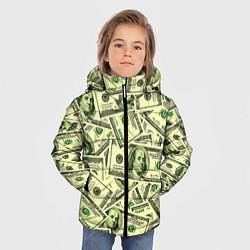 Куртка зимняя для мальчика Benjamin Franklin цвета 3D-черный — фото 2