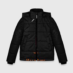 Куртка зимняя для мальчика Half-Life: Valve's цвета 3D-черный — фото 1
