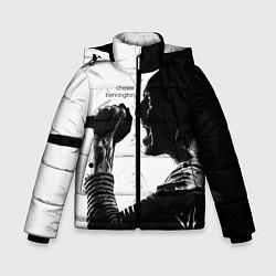Куртка зимняя для мальчика Bennington Rock цвета 3D-черный — фото 1