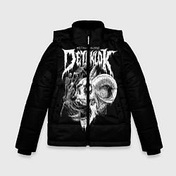 Куртка зимняя для мальчика Dethklok: Goat Skull цвета 3D-черный — фото 1