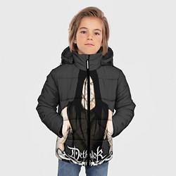Куртка зимняя для мальчика Dethklok Man цвета 3D-черный — фото 2