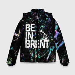 Куртка зимняя для мальчика Be in brent цвета 3D-черный — фото 1