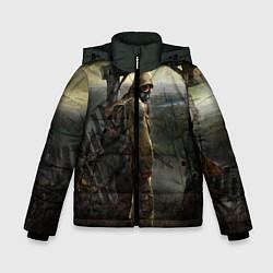 Куртка зимняя для мальчика STALKER: Call of Pripyat цвета 3D-черный — фото 1