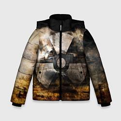 Детская зимняя куртка для мальчика с принтом STALKER: Nuclear, цвет: 3D-черный, артикул: 10135204706063 — фото 1
