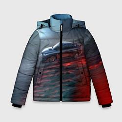 Куртка зимняя для мальчика Subaru цвета 3D-черный — фото 1
