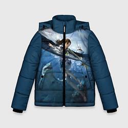 Куртка зимняя для мальчика TOMB RAIDER цвета 3D-черный — фото 1