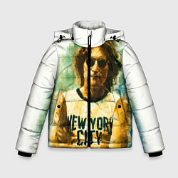 Куртка зимняя для мальчика John Lennon: New York цвета 3D-черный — фото 1
