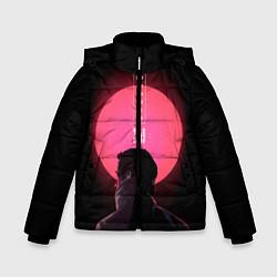 Куртка зимняя для мальчика Blade Runner: Acid sun цвета 3D-черный — фото 1