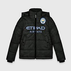 Куртка зимняя для мальчика Man City FC: Black 17/18 цвета 3D-черный — фото 1
