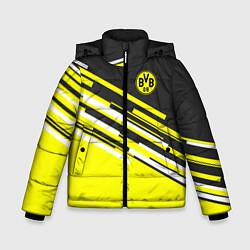 Куртка зимняя для мальчика Borussia FC: Sport Line 2018 цвета 3D-черный — фото 1