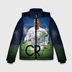 Куртка зимняя для мальчика CR7 цвета 3D-черный — фото 1