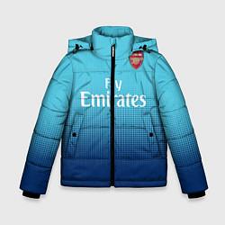 Куртка зимняя для мальчика Arsenal FC: Blue Away 17/18 цвета 3D-черный — фото 1
