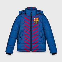 Куртка зимняя для мальчика FC Barcelona: Creative цвета 3D-черный — фото 1