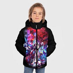 Куртка зимняя для мальчика No Game No Life Zero цвета 3D-черный — фото 2