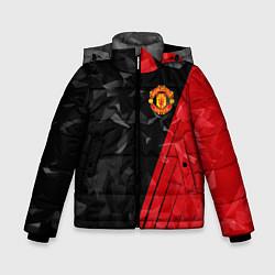 Куртка зимняя для мальчика FC Manchester United: Abstract цвета 3D-черный — фото 1