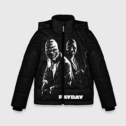 Куртка зимняя для мальчика Payday цвета 3D-черный — фото 1