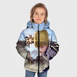 Куртка зимняя для мальчика Киборг цвета 3D-черный — фото 2