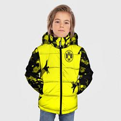 Куртка зимняя для мальчика FC Borussia Dortmund: Yellow Original цвета 3D-черный — фото 2