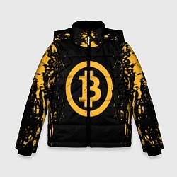Куртка зимняя для мальчика Bitcoin Master цвета 3D-черный — фото 1