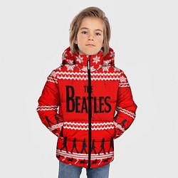 Куртка зимняя для мальчика The Beatles: New Year цвета 3D-черный — фото 2