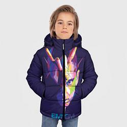 Куртка зимняя для мальчика Eminem V&C цвета 3D-черный — фото 2