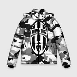 Куртка зимняя для мальчика FC Juventus: Camouflage цвета 3D-черный — фото 1