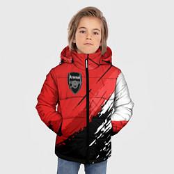 Куртка зимняя для мальчика FC Arsenal: Original цвета 3D-черный — фото 2