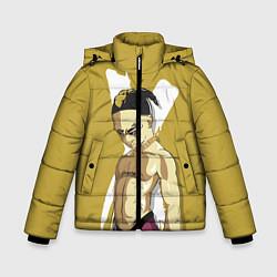 Куртка зимняя для мальчика Anime XXXTentacion цвета 3D-черный — фото 1