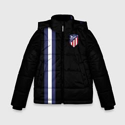 Куртка зимняя для мальчика FC Atletico Madrid: Blue Line цвета 3D-черный — фото 1