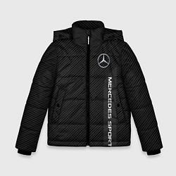 Куртка зимняя для мальчика Mercedes AMG: Sport Line цвета 3D-черный — фото 1