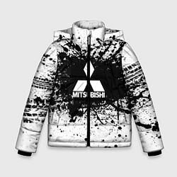Куртка зимняя для мальчика Mitsubishi: Black Spray цвета 3D-черный — фото 1