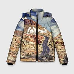 Куртка зимняя для мальчика California Way цвета 3D-черный — фото 1
